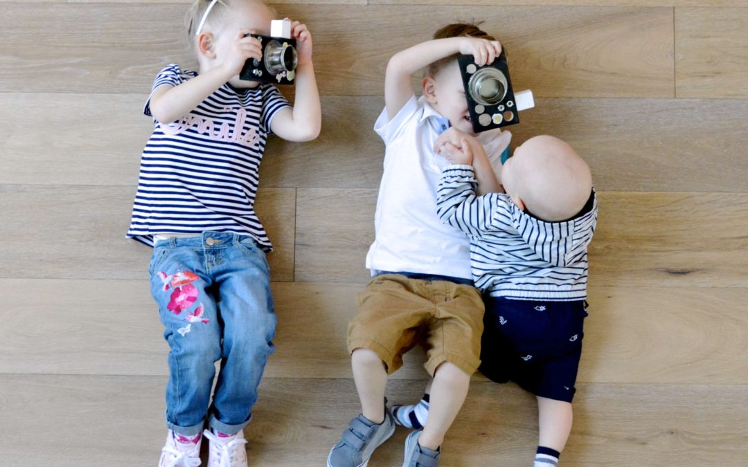 Designing Homemade Cameras with Gymboree!